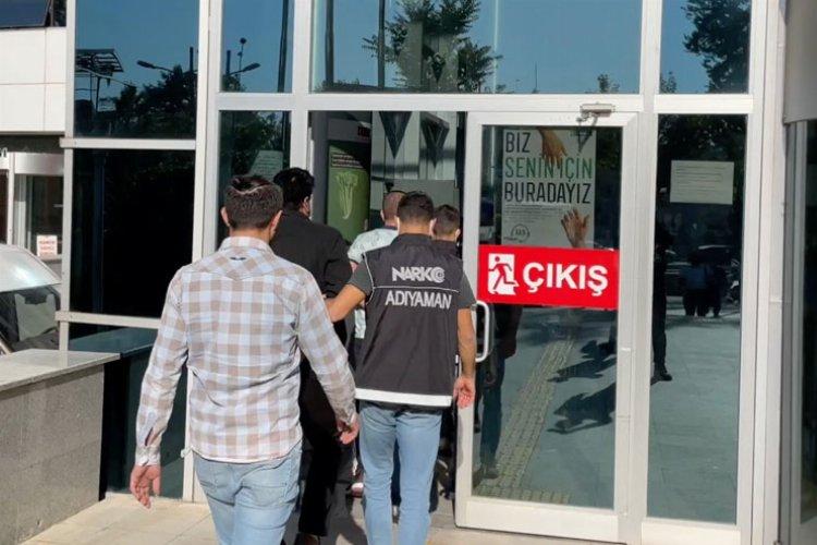 Adıyaman'da uyuşturu operasyonunda 4 tutuklama