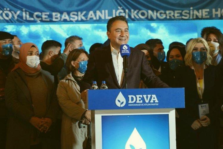 """Babacan'dan kur yorumu: """"Haysiyetli insanlarımız kobay değil"""""""