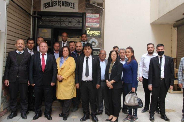 Gelecek Partisi Kahramanmaraş Elbistan İlçe Başkanlığı görkemli törenle açıldı