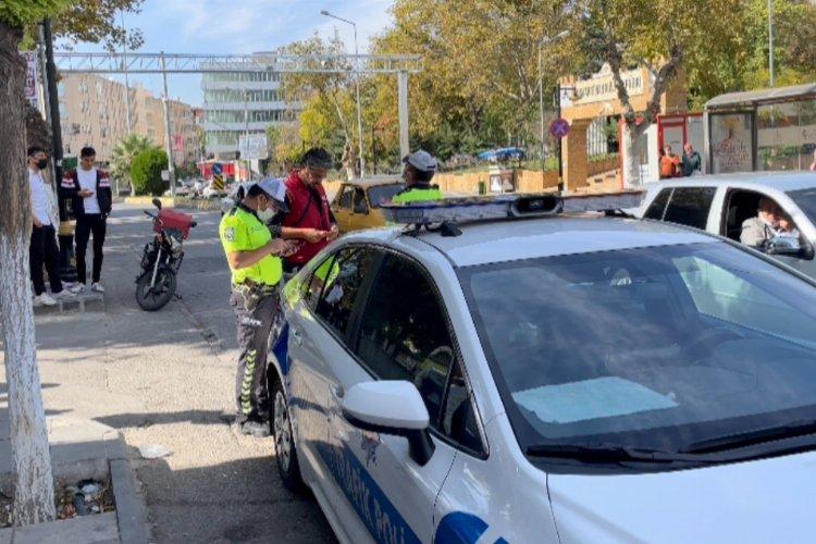 Adıyaman'da aranan şahıs trafik ekiplerine yakalandı