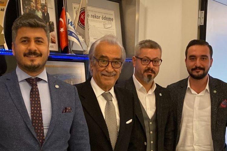 İYİ Partili Doğan Murat Kılıç'tan Eski Bakan Ali Doğan'a Ziyaret