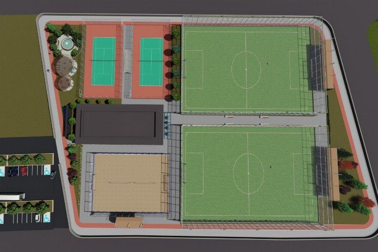İzmit Belediyesi'nden çok amaçlı spor kompleksi