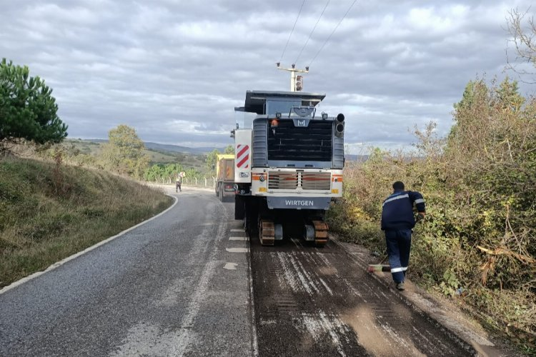 Kocaeli Kandıra'ya asfalt çalışması yapıldı