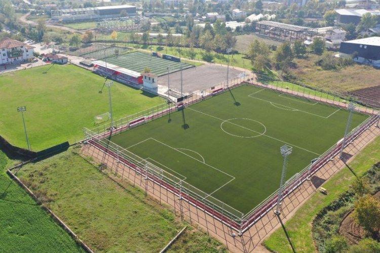 Kocaeli'nde FIFA standartlarında futbol sahası