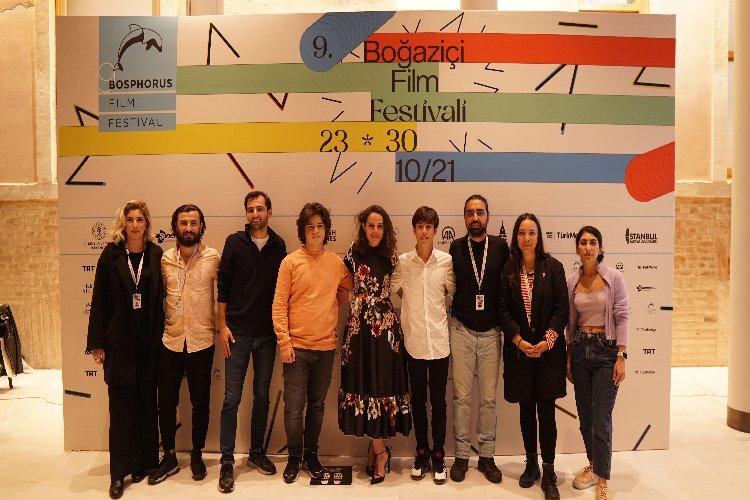 'Pota' filminin ekibi 9. Boğaziçi Film Festivali'nde