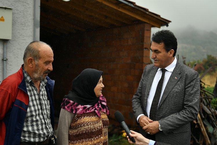 Bursa Osmangazi'de sel mağdurları evlerine kavuştu